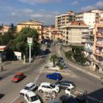 Vista piazza Borelli